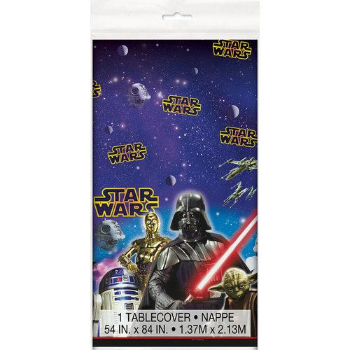 Star Wars Plastic Table Cover - shop54675
