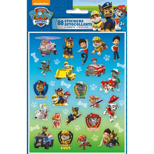 Paw Patrol Stickers [4 Sheets] - shop54675
