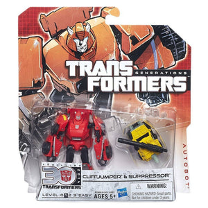 Transformers Generations - Cliff Jumper and Suppressor - shop54675
