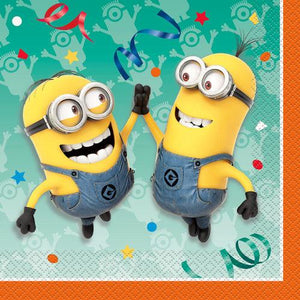 The Minions Luncheon Napkins [16 Per Pack] - shop54675