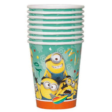 Load image into Gallery viewer, The Minions 9oz Party Cups [8 Per Pack] - shop54675