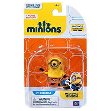 Load image into Gallery viewer, The Minions Poseable Figure [Medieval Minion] - shop54675