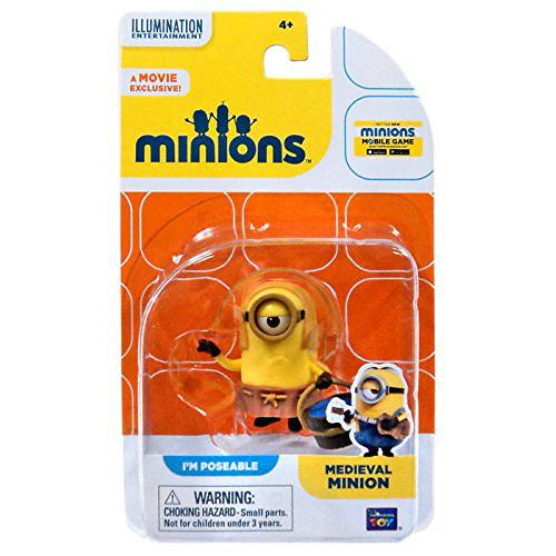 The Minions Poseable Figure [Medieval Minion] - shop54675