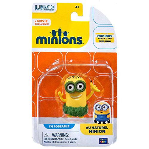 The Minions Poseable Figure [Au Naturel Minion] - shop54675