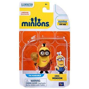 The Minions Poseable Figure [Cro-Minion] - shop54675