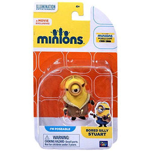 The Minions Poseable Figure [Bored Silly Stuart] - shop54675