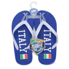 Load image into Gallery viewer, World of Sports Flip Flops - Italy - Medium - shop54675