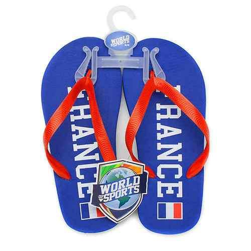 World of Sports Flip-Flops - France - X-Small - shop54675