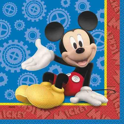 Mickey Mouse Clubhouse Luncheon Napkins [16 Per Pack] - shop54675