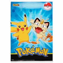 Load image into Gallery viewer, Pikachu & Friends Folded Loot Bags [8 Per Pack] - shop54675