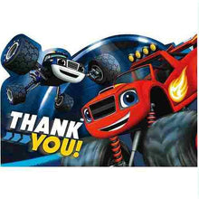 Load image into Gallery viewer, Blaze and the Monster Machines Postcard Thank You Cards [8 Per Pack] - shop54675