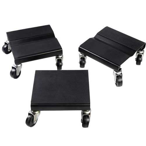 1500 LBS Snowmobile Roller Set 3 PCs Dolly Storage Dollies Mover Snow Mobile New - shop54675