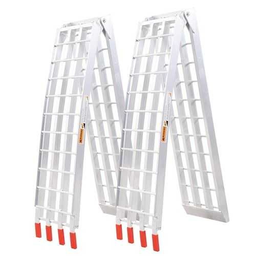 2 pcs 7.5' Heavy Duty ATV UTV Ramps - shop54675
