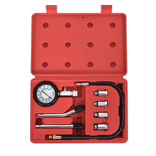 "8 pcs Professional Gas Engine 2.5"" Gauge Kit - shop54675"