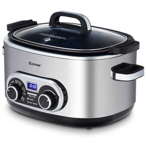 4-in-1 6 Quart Stainless Multi Cooker - shop54675