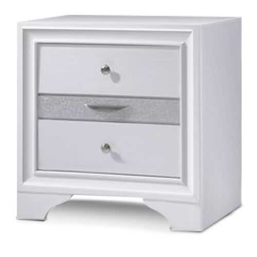 3 Drawers Decor End Side Table Nightstand