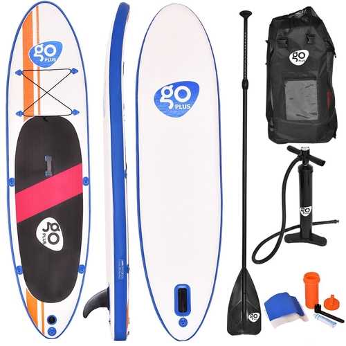 Goplus 10' Inflatable Standup Board with Adjustable Paddle - shop54675