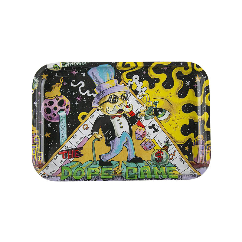 Bandeja Dunkees Rolling Tray - 30x20cm Diferentes diseños - mylegalize