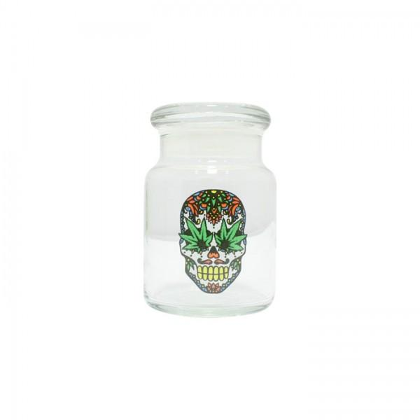 Pop Top Jar 1 Skull 150ml - mylegalize