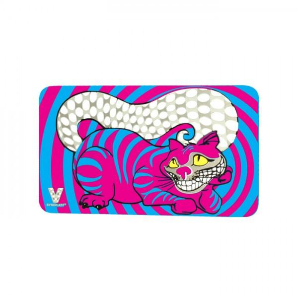 tarjeta gato Cheshire Cat Grinder Card Multicolor - mylegalize