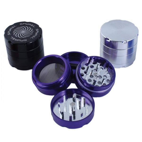 Spyral 40mm 4 Part Grinder - mylegalize