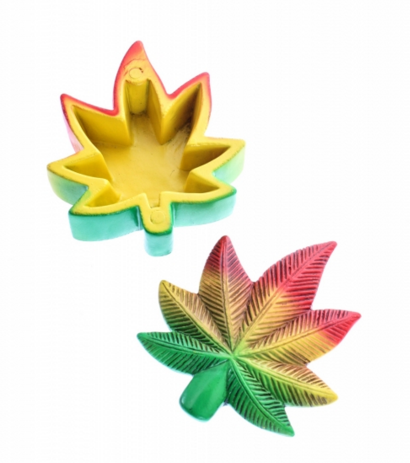 Caja Magnetic Box - Rasta Leaf - mylegalize