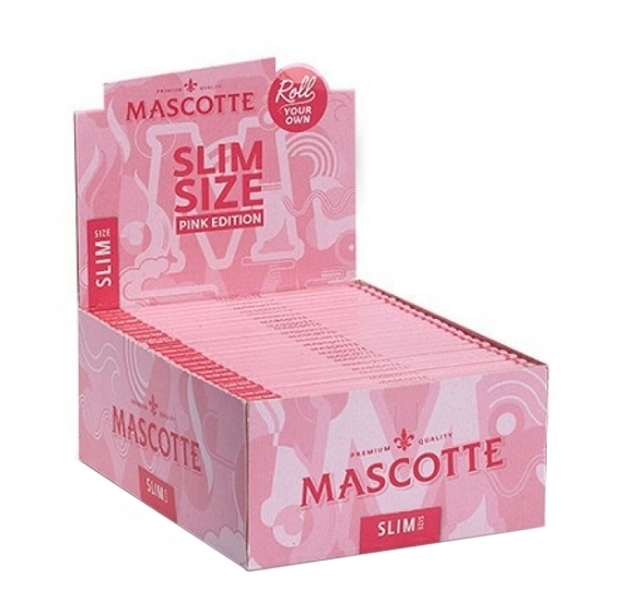 Papel Mascotte Slim Pink Edition