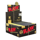 Papel RAW BLACK KING size
