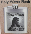 Holy Water Flask - Metal | 6oz - mylegalize