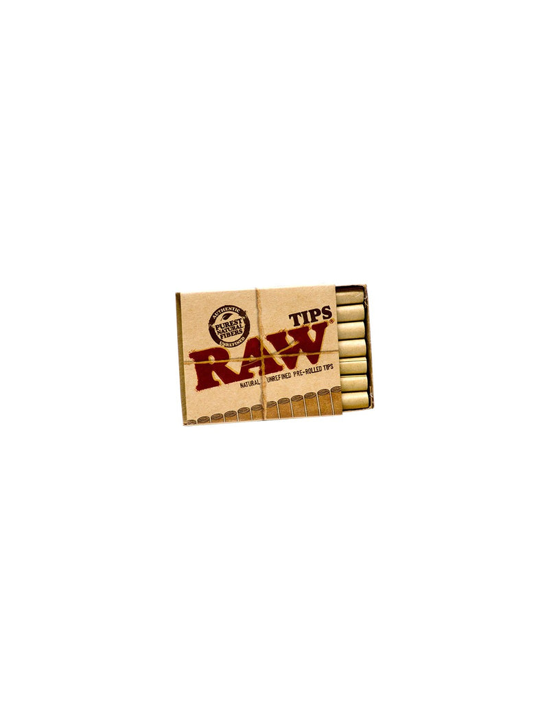 Filtros Raw Pre-Rolled Tips 21u