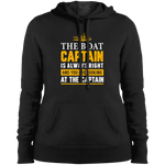 The Captain Is Always Right Women's Hoodie