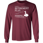 Fishing Retirement Plan Men's Long Sleeve