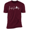 Sailing Heartbeat Men's T-Shirt