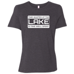 Time Wasted At The Lake Women's T-Shirt