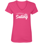 I'd Rather Be Sailing Women's V-Neck