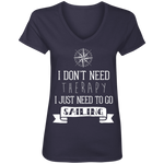Sailing Therapy Ladies' V-Neck