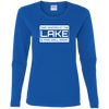 Time Wasted At The Lake Women's Long Sleeve