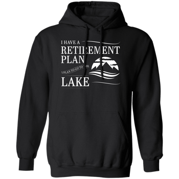 Lake Retirement Plan Men's Hoodie