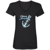 Captain Awesome Women's V-Neck