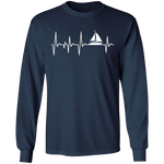 Sailing Heartbeat Men's Long Sleeve