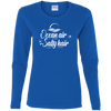 Ocean Air Salty Hair Women's Long Sleeve