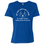My First Mate Has 4 Paws Women's T-Shirt