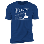 Fishing Retirement Plan Men's T-Shirt