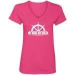 My Boat My Rules Women's V-Neck