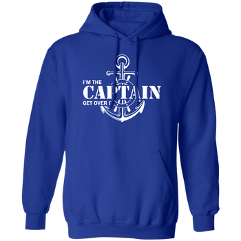 I'm the Captain, Get Over It Unisex Hoodie