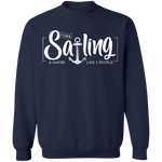 I Like Sailing and Maybe Like 3 People Men's Sweatshirt