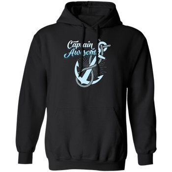 Captain Awesome Men's Hoodie