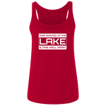 Time Wasted At The Lake Women's Tank Top