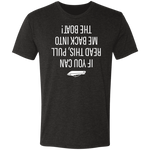 Pull Me Back Into The Boat Premium Men's Tri-Blend T-Shirt