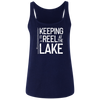 Keeping It Reel At The Lake Women's Tank Top